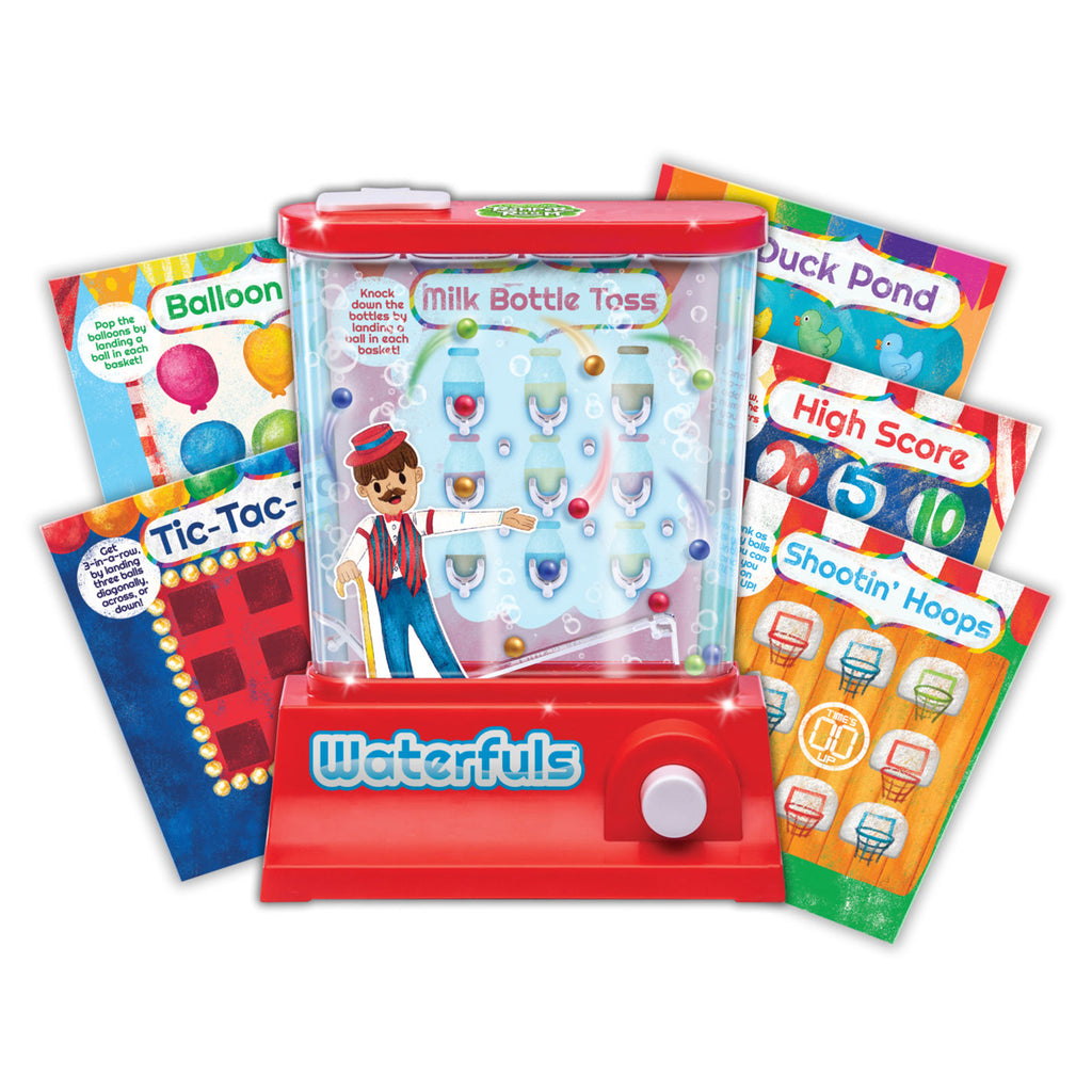 waterfuls classic handheld water game contents