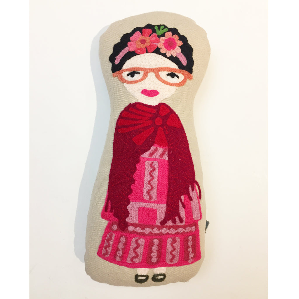 Frida Pillow Doll