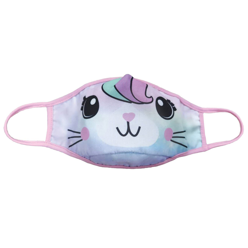 iscream kids reversible protective face mask caticorn side 1