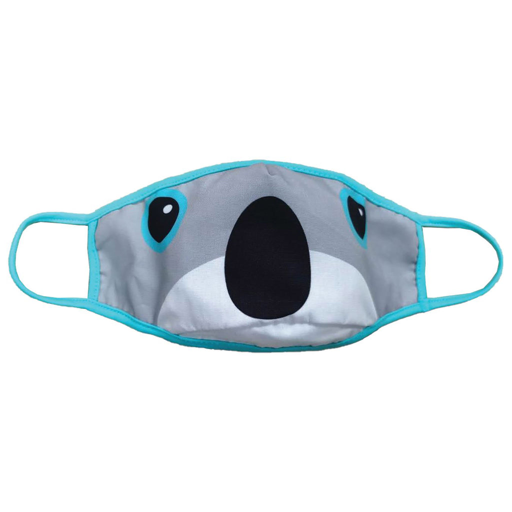 iscream kids reversible protective face mask koala side 1