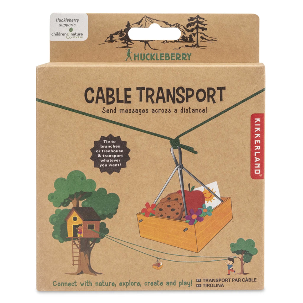 kikkerland huckleberry cable transport