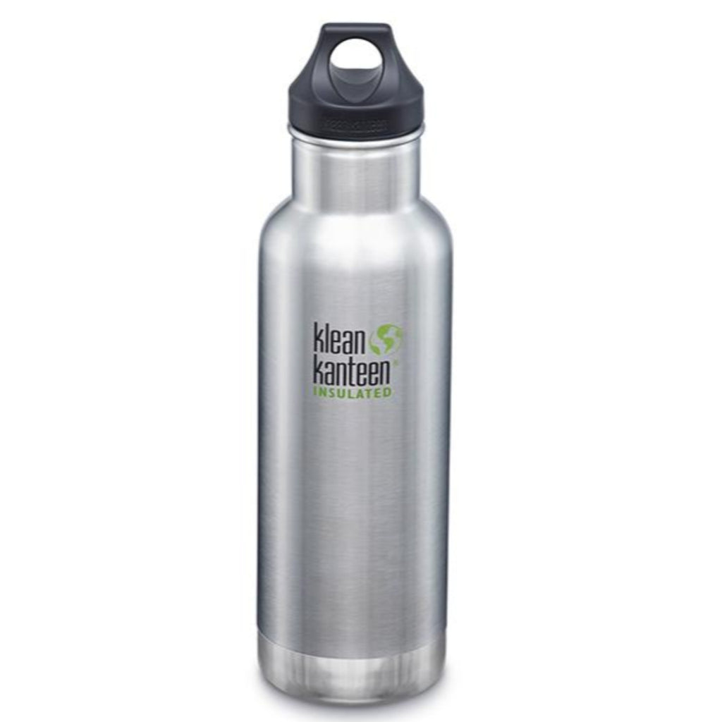 Klean Kanteen Insulated Water Bottle - Brushed Stainless