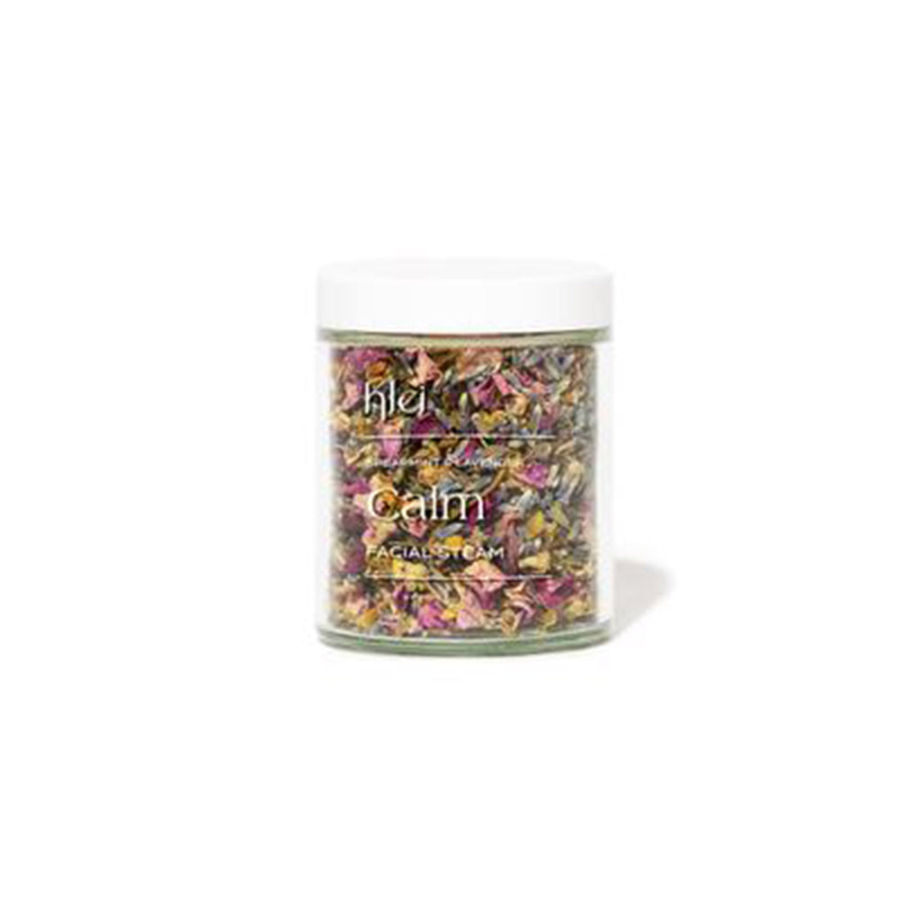 klei spearmint and lavender calm scented floral facial steam jar