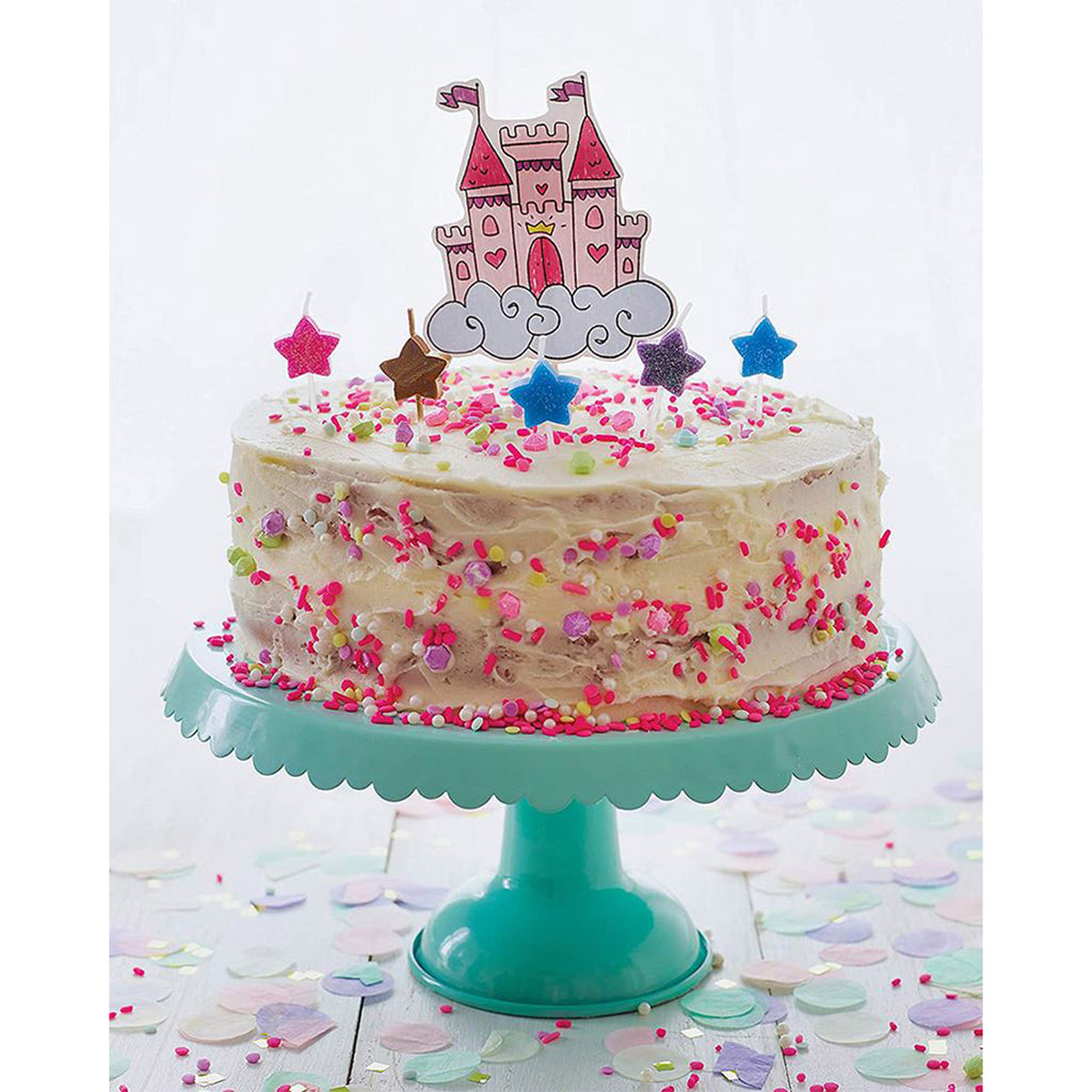 klutz kids magical baking with with cookbook recipes activity kit enchanted castle cake finished
