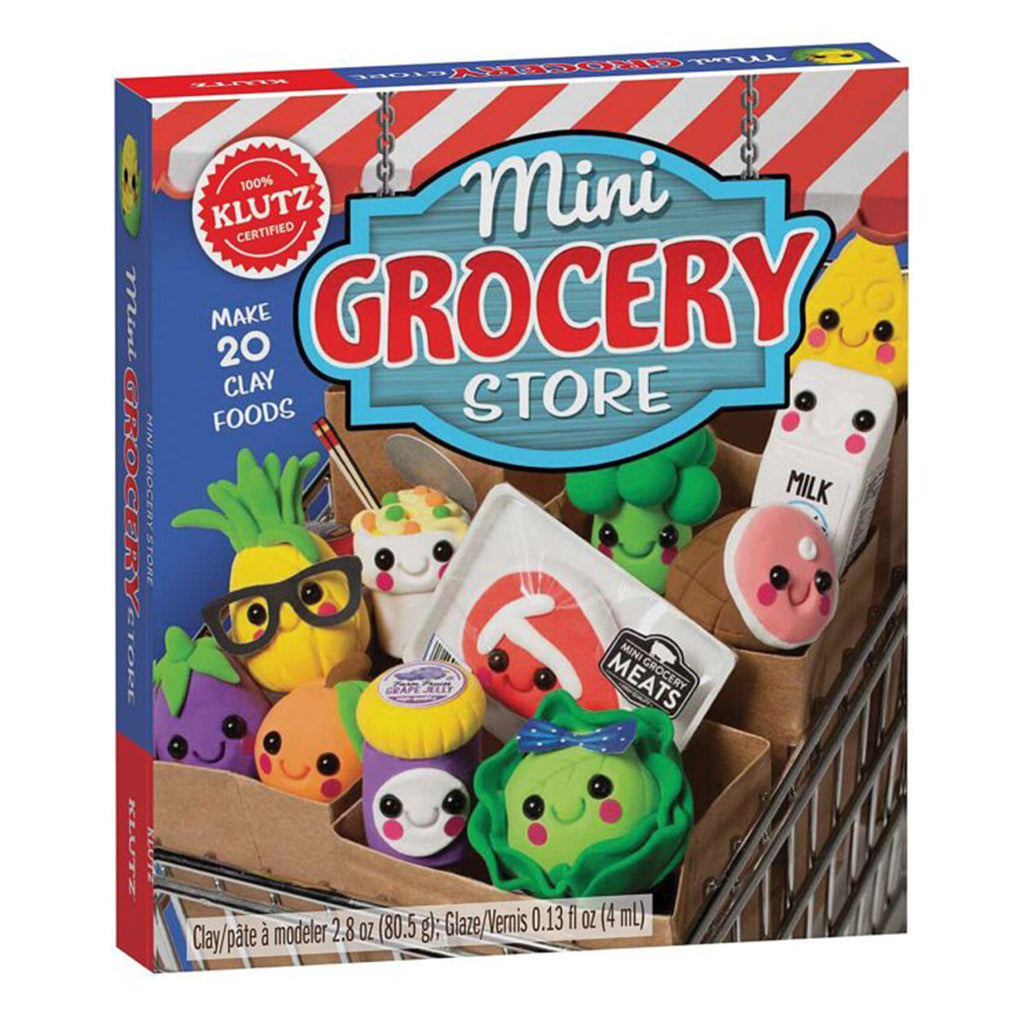 mini grocery store clay food playset