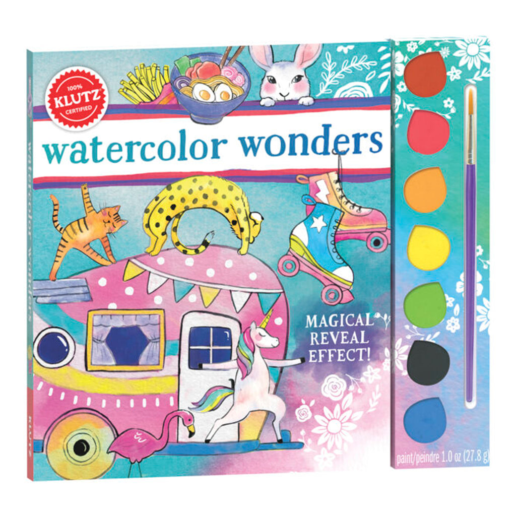 klutz watercolor wonders paint book