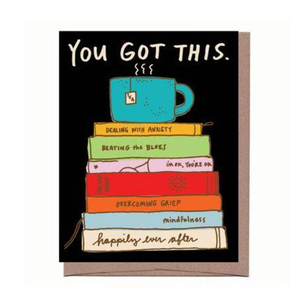 la familia green self help you got this greeting card