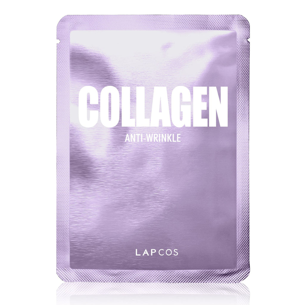 lapcos collagen anti-wrinkle daily skin face mask