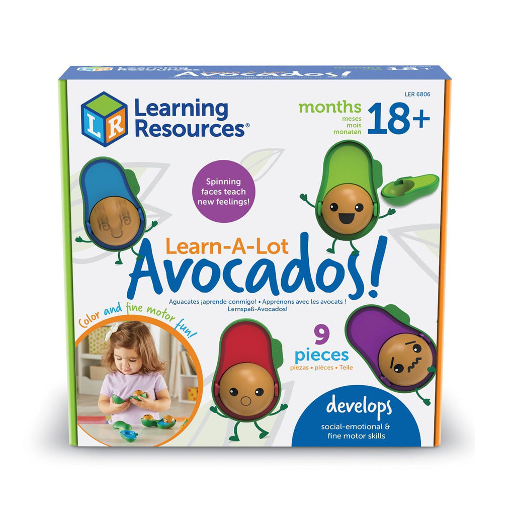 learning resources learn-a-lot emoji avocados emotions faces feelings expressions box front
