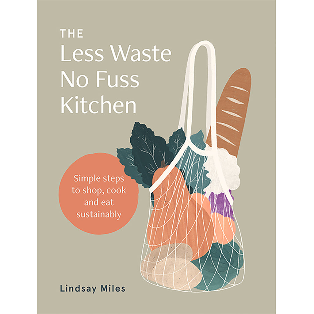 chronicle the less waste no fuss kitchen book cover
