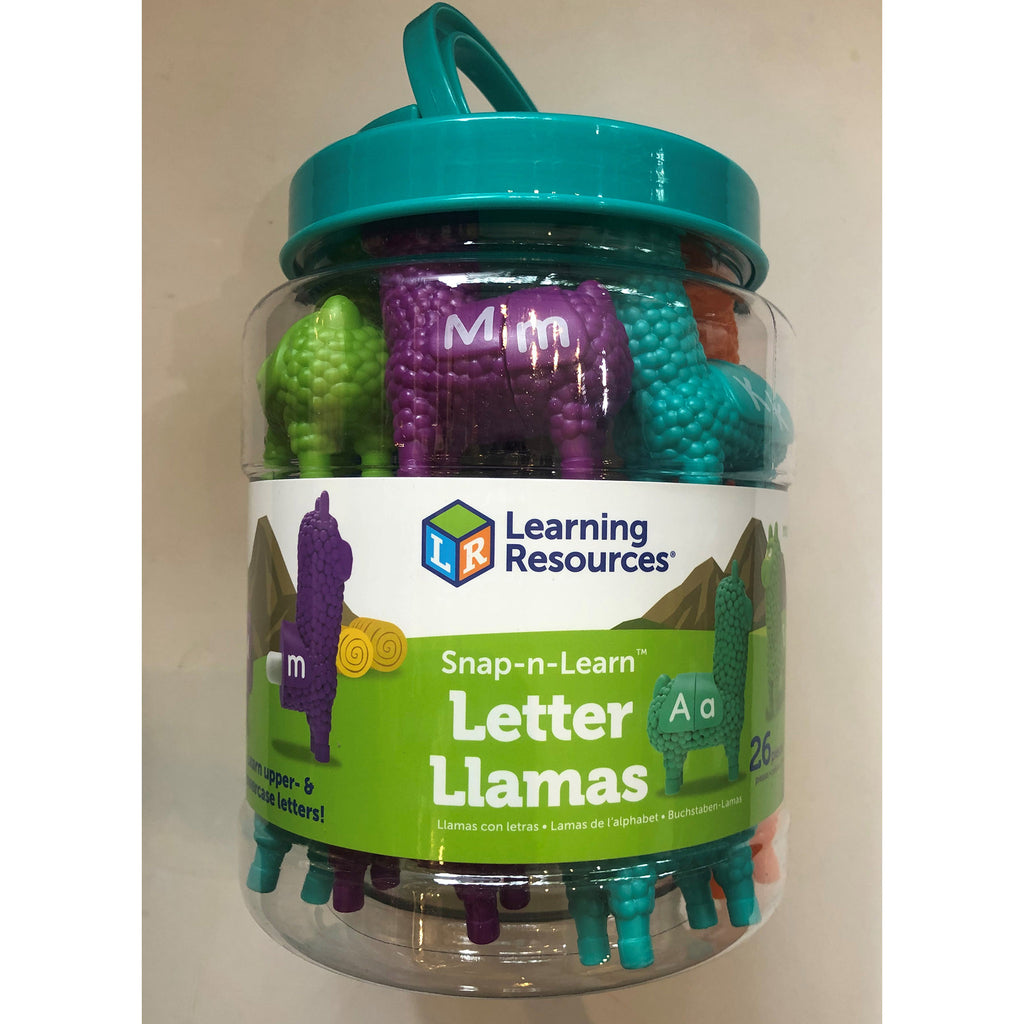 Snap and Learn Letter Llamas
