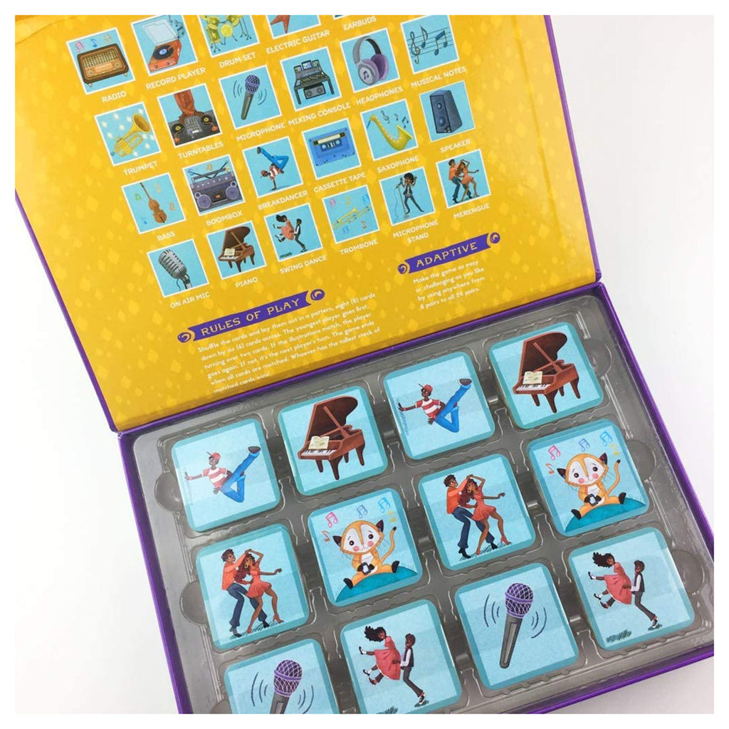 little likes kids musical crossroads memory game