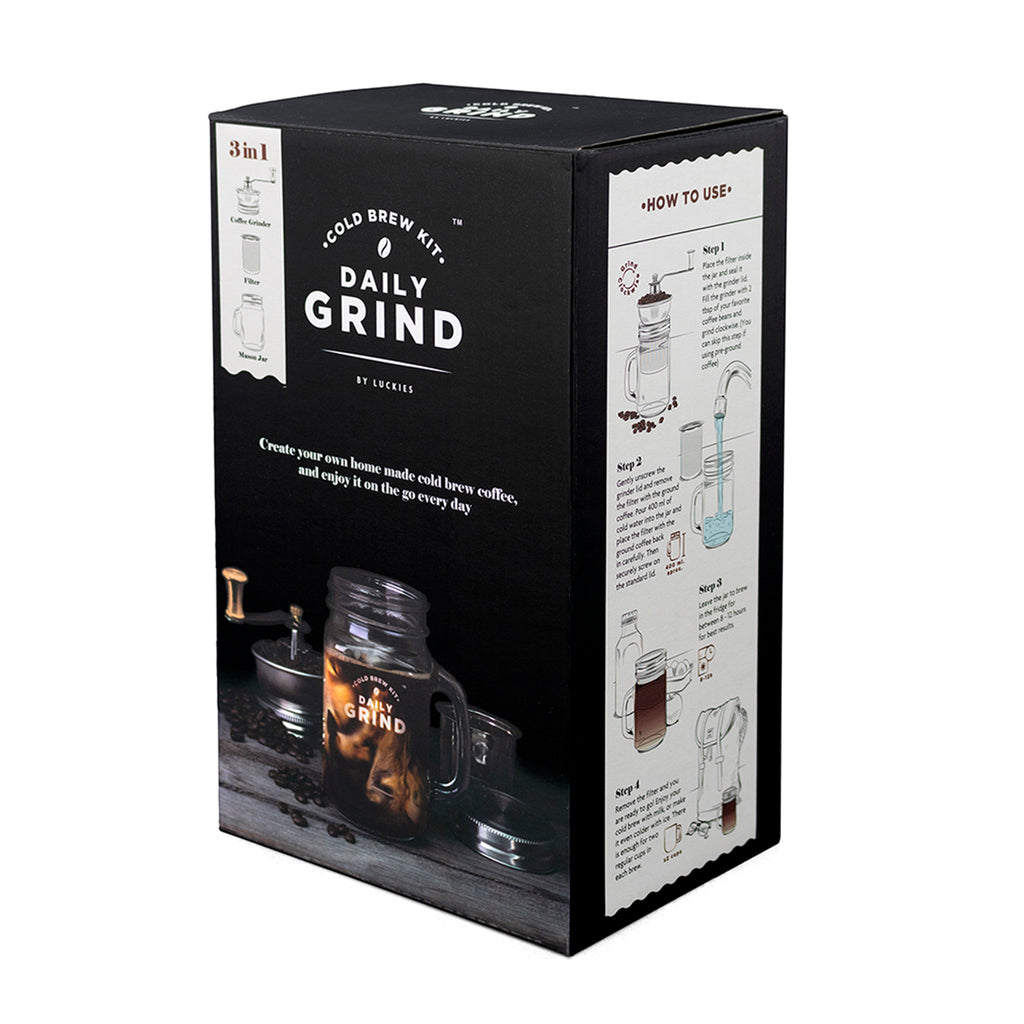 daily grind cold brew kit box