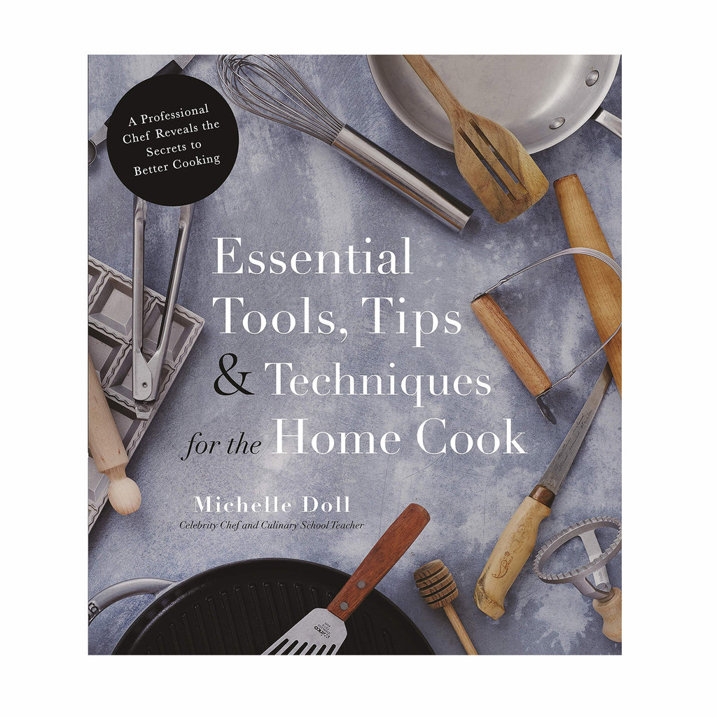 macmillan essential tools tips and techniques for the home cook cookbook book cover