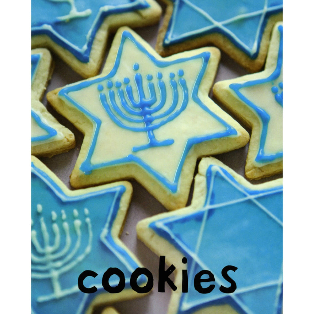 macmillan hanukkah bright baby touch and feel board book cookies page