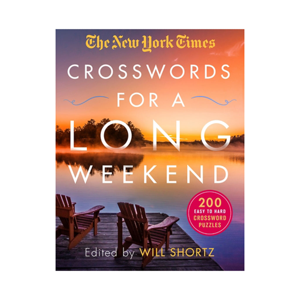 macmillan nyt crosswords for a long weekend book paperback
