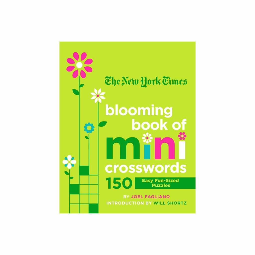 macmillan the new york times blooming book of mini crosswords cover 9781250253132