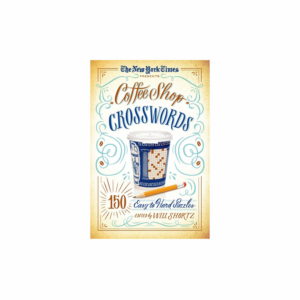 macmillan the new york times coffee shop crosswords 150 easy to hard puzzles book cover