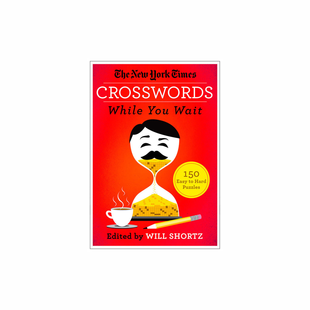 macmillan the new york times crosswords while you wait 150 easy to hard puzzles book cover