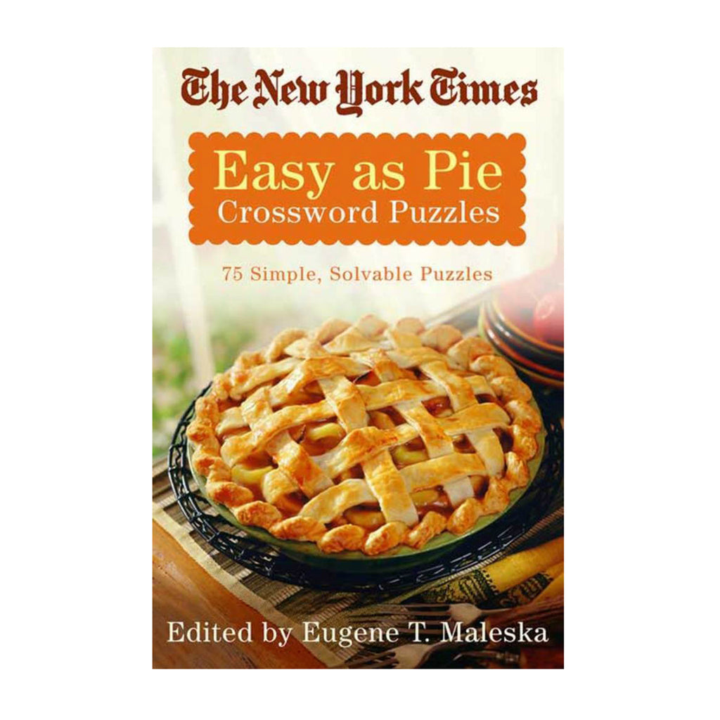 macmillan the new york times easy as pie 75 simple solvable crossword puzzles book cover
