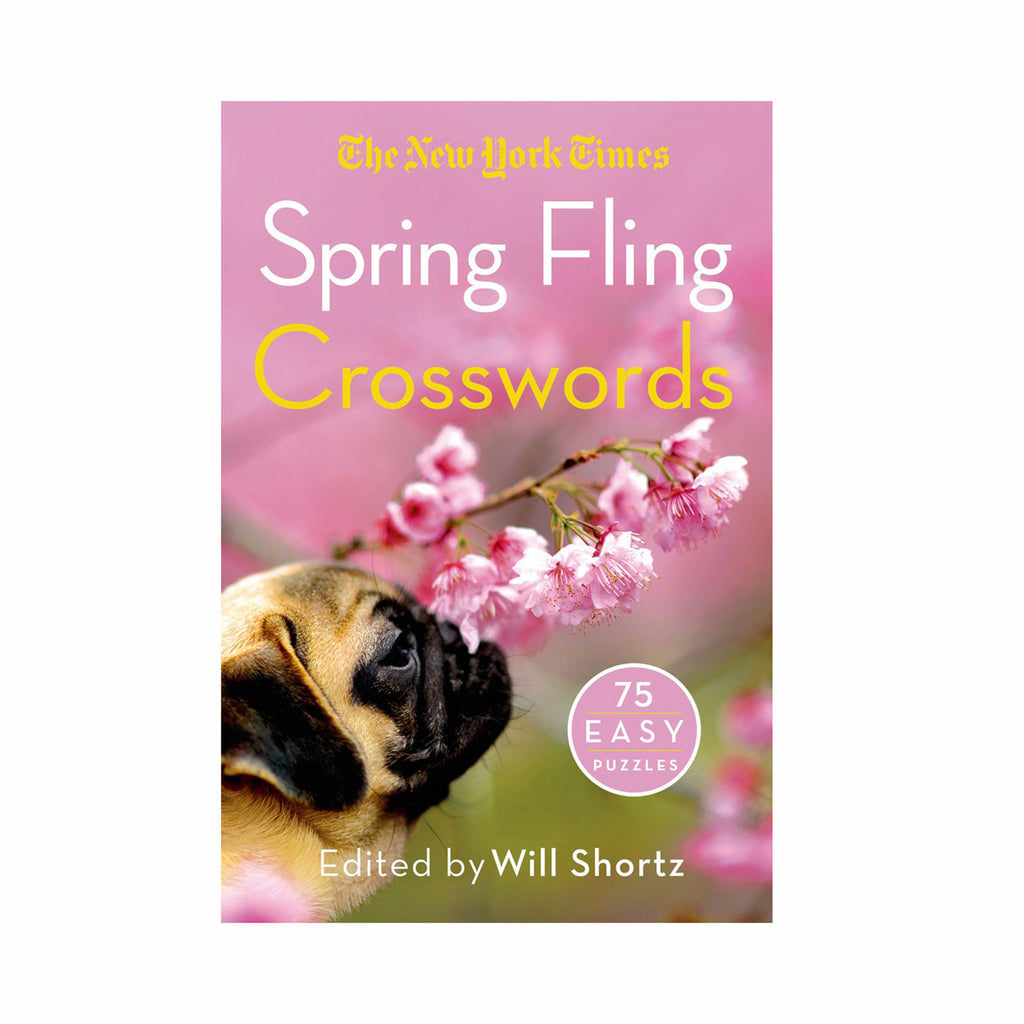 macmillan the new york times spring fling crosswords easy puzzle book cover