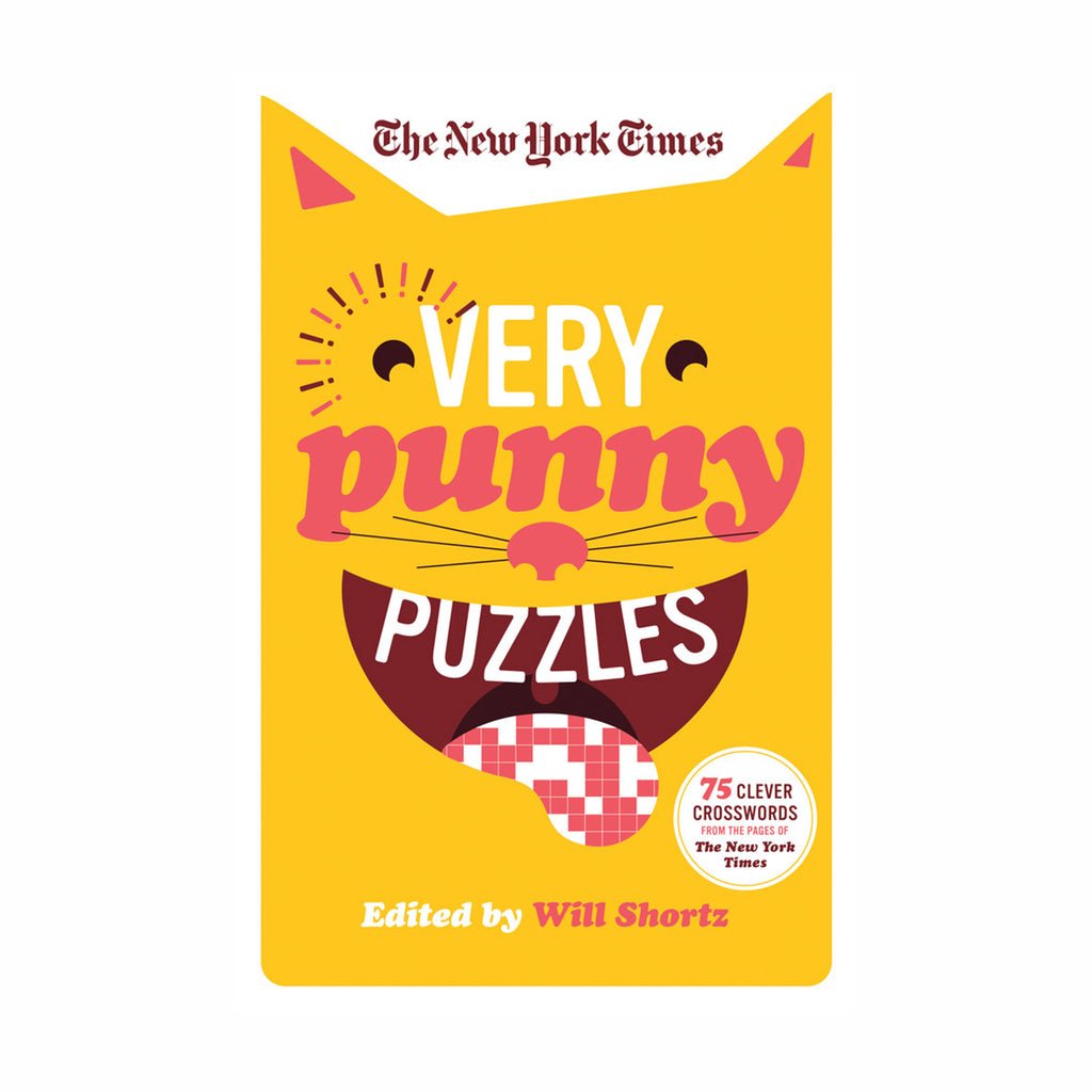 macmillan the new york times very punny puzzles crossword book cover 9781250133250