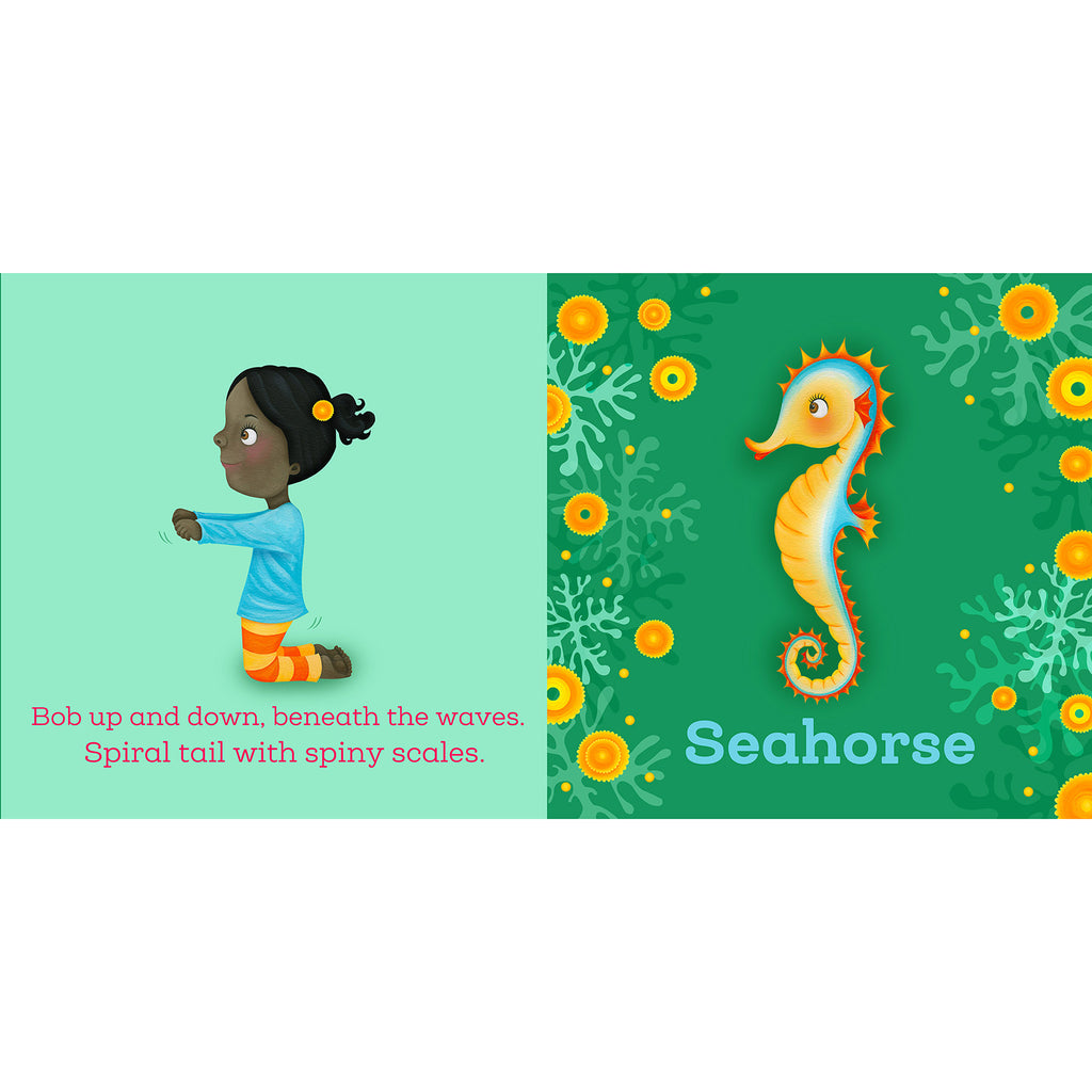 mps books yoga whale toddler board book seahorse sample page