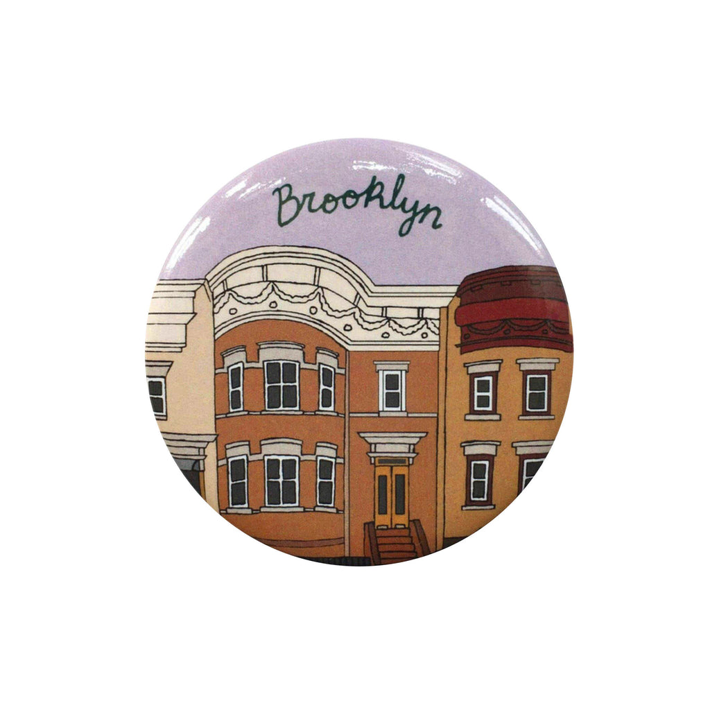 made by nilina brooklyn brownstone magnet souvenir