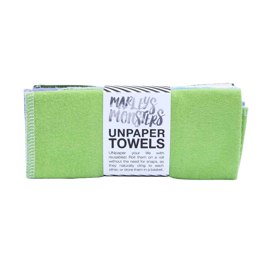 marley's monsters unpaper towels assorted soft rainbow colors 6 pack top