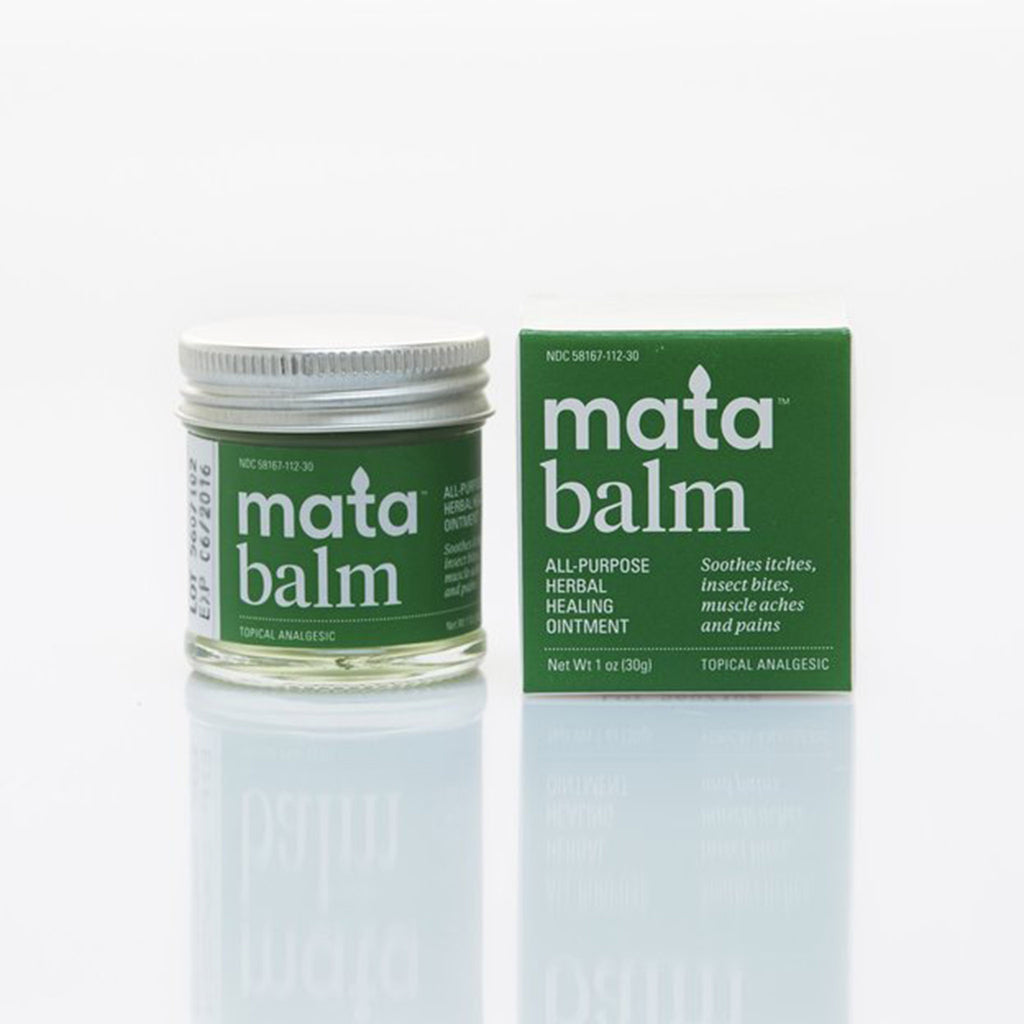 mata mata balm all-purpose herbal healing ointment topical analgesic with box