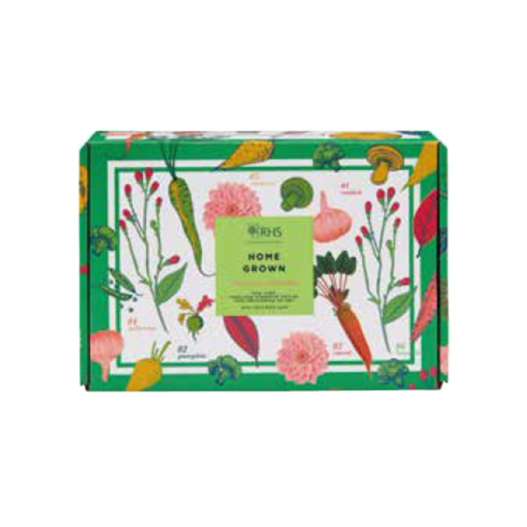 mcardle rhs home grown limited edition care gift for hands packaging