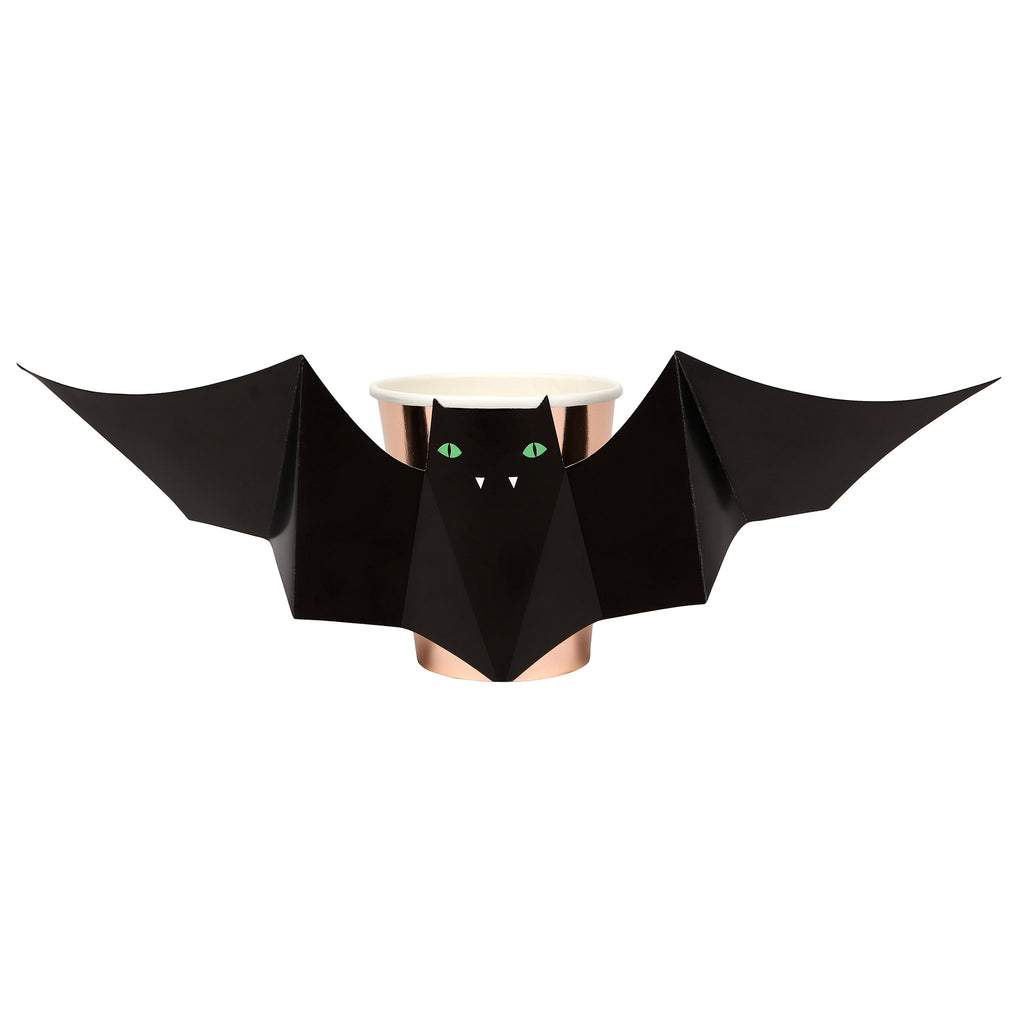 meri meri bat hot or cold cup halloween party supplies