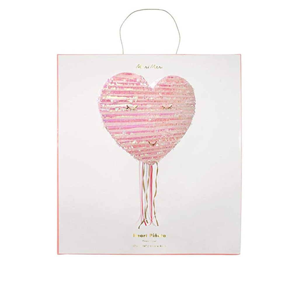 meri meri heart pinata valentines day party supplies decoration in packaging