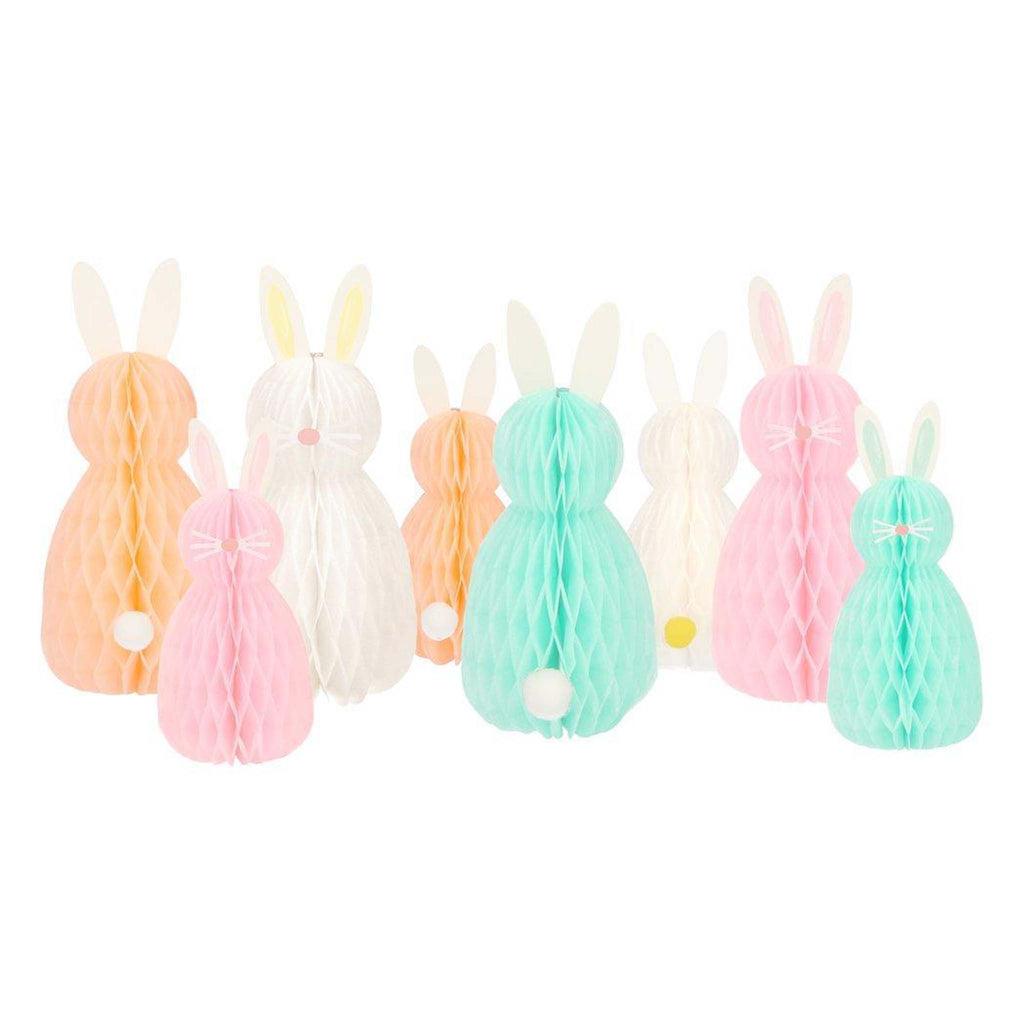 meri meri honeycomb bunnies