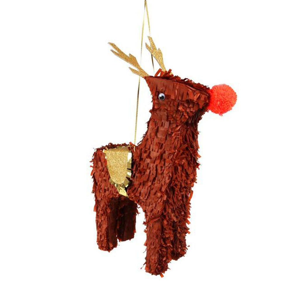 meri meri reindeer christmas pinata holiday party decorations supplies hanging