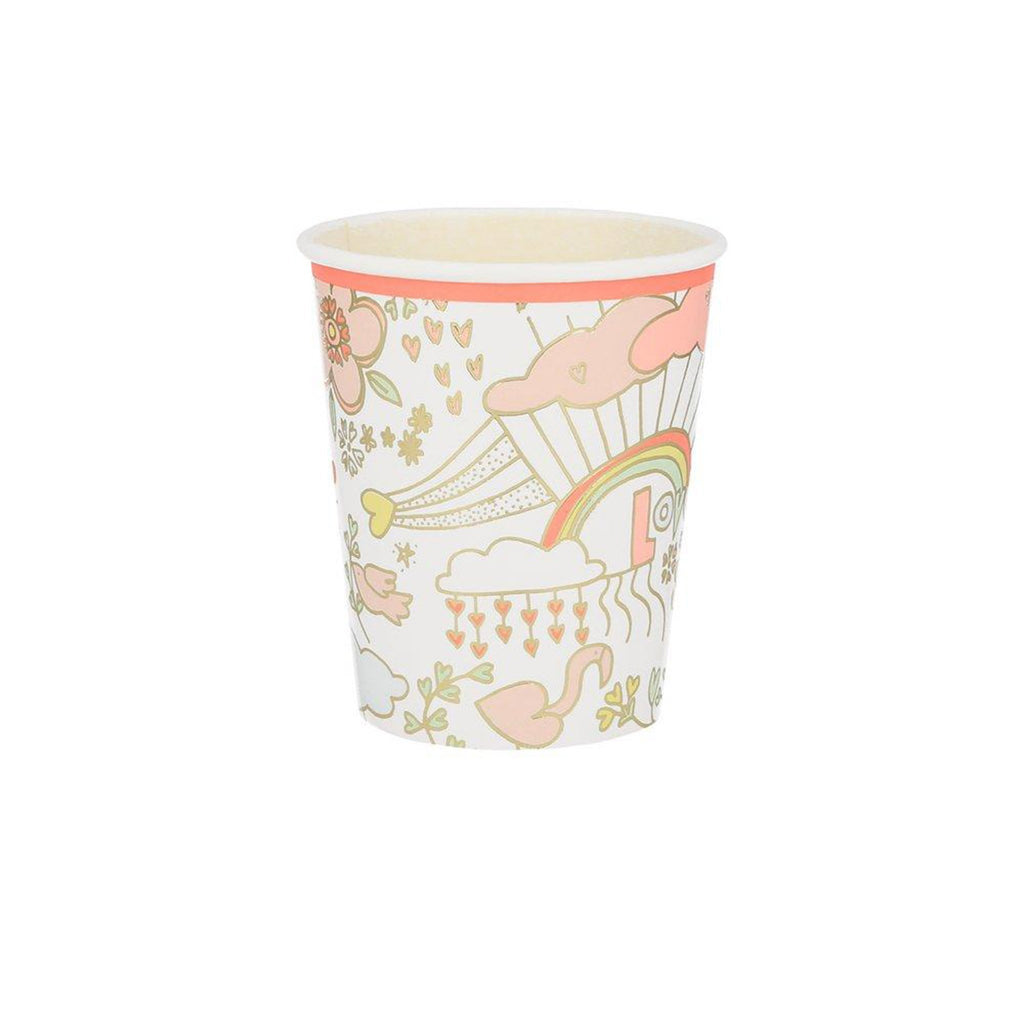 meri meri valentine's day party supplies valentine doodle cups