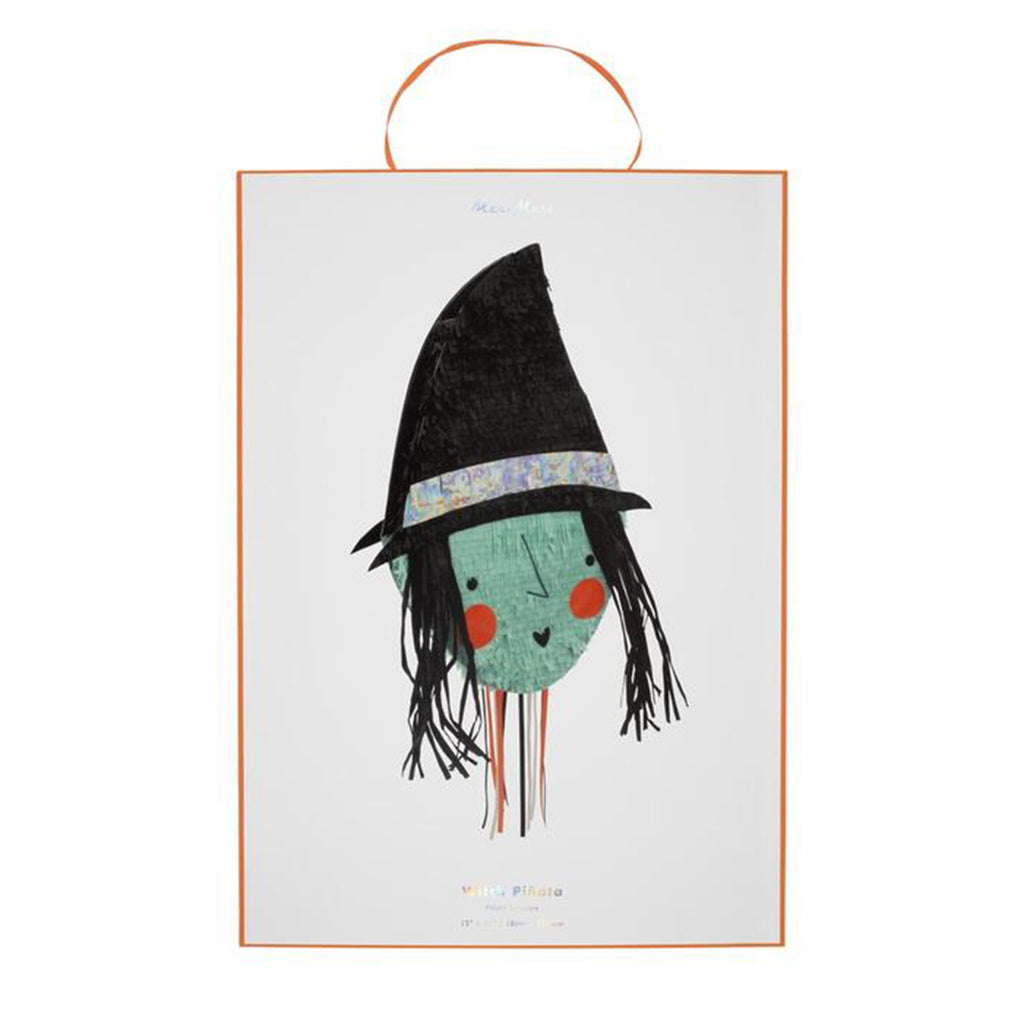meri meri witch pinata halloween decorations party supplies in packaging