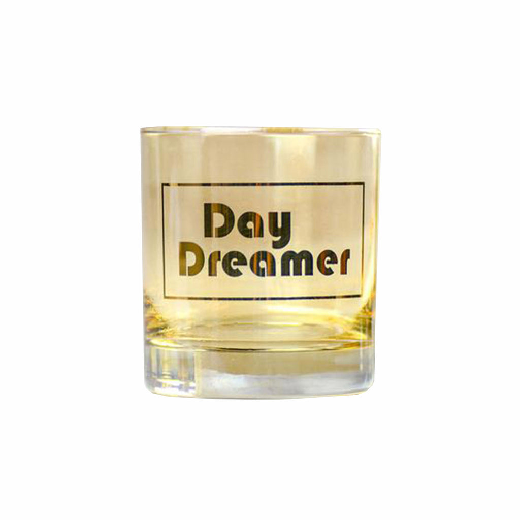 meriwether day dreamer amber colored cocktail glass front