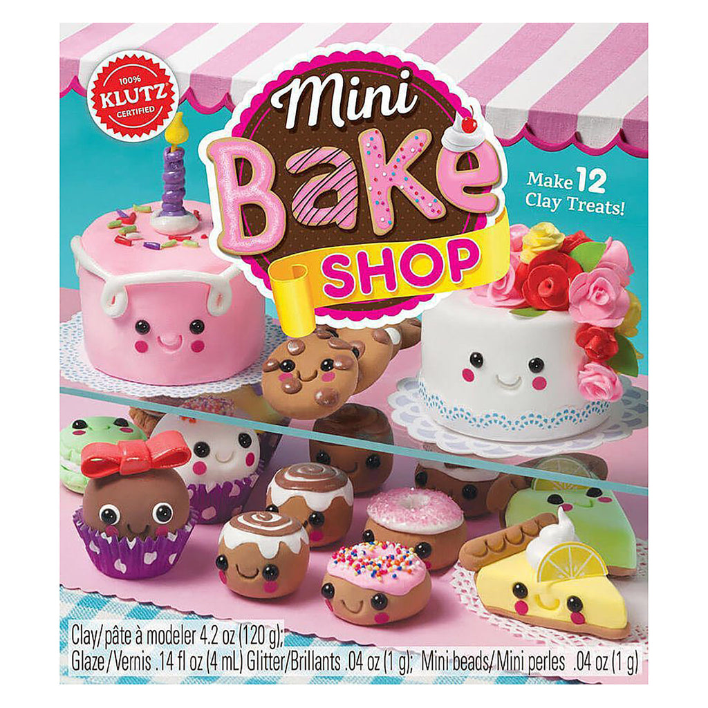 Mini Bake Shop Clay Food Kit