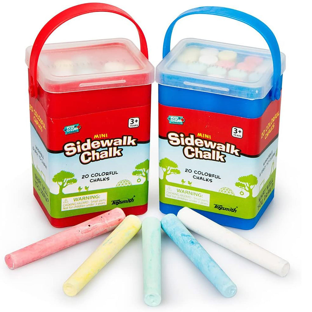 Mini Sidewalk Chalk Set