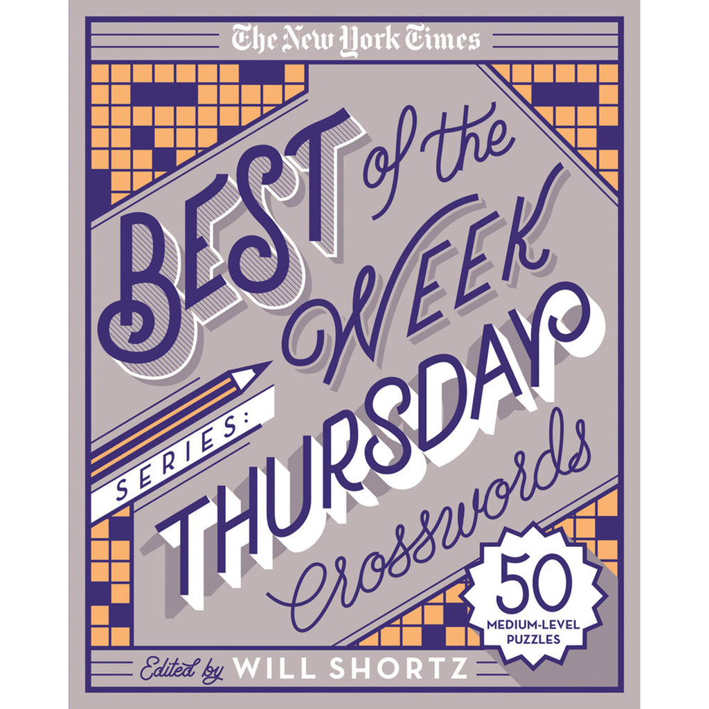 the new york times best of the week thursday crossword book