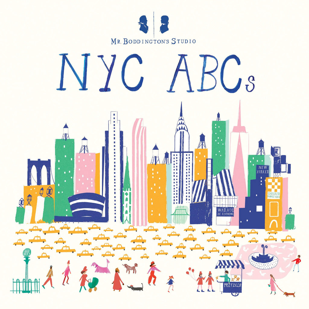 Mr. Boddington's Studio NYC ABCs