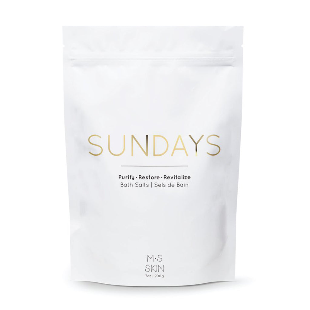 ms skin sundays bath salts package