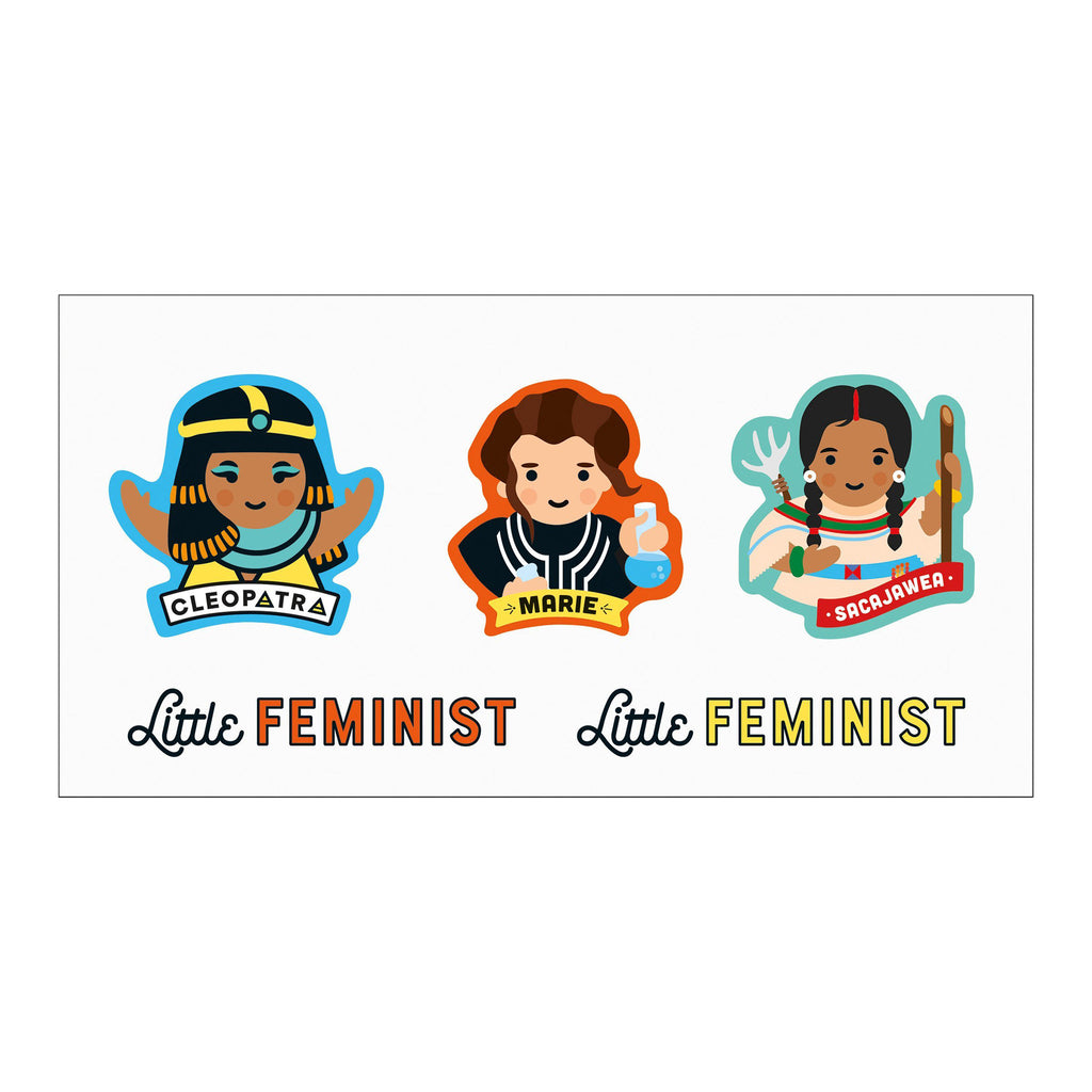 little feminist temporary tattoos sample 5