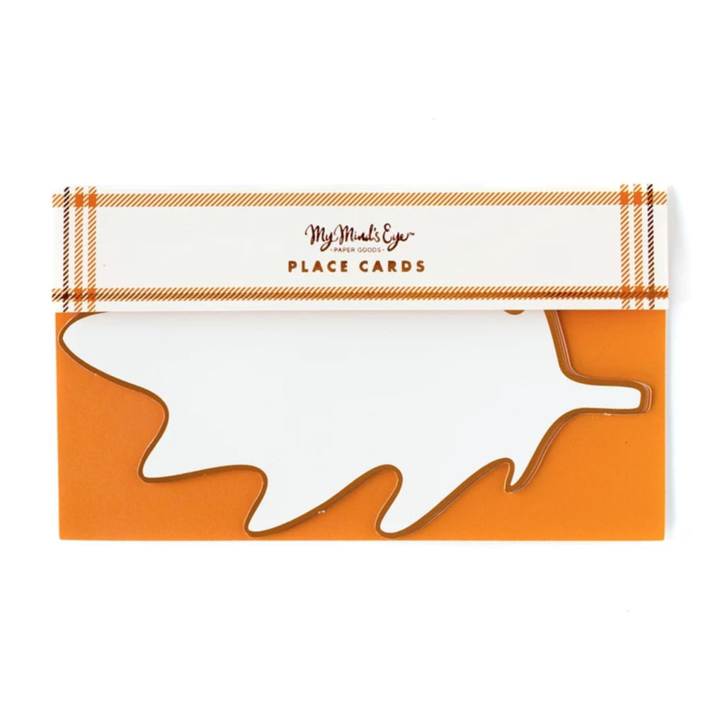 my minds eye thanksgiving harvest leaf place cards packaging