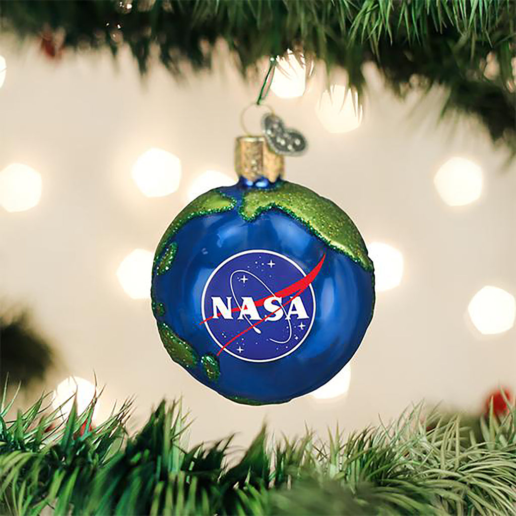 nasa earth ornament