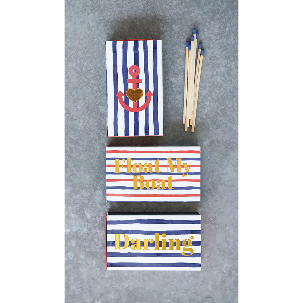 Nautical Matchbox