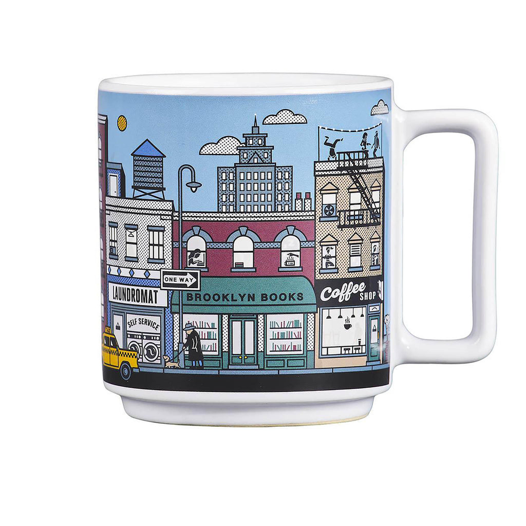 New York Heat Changing Mug cold
