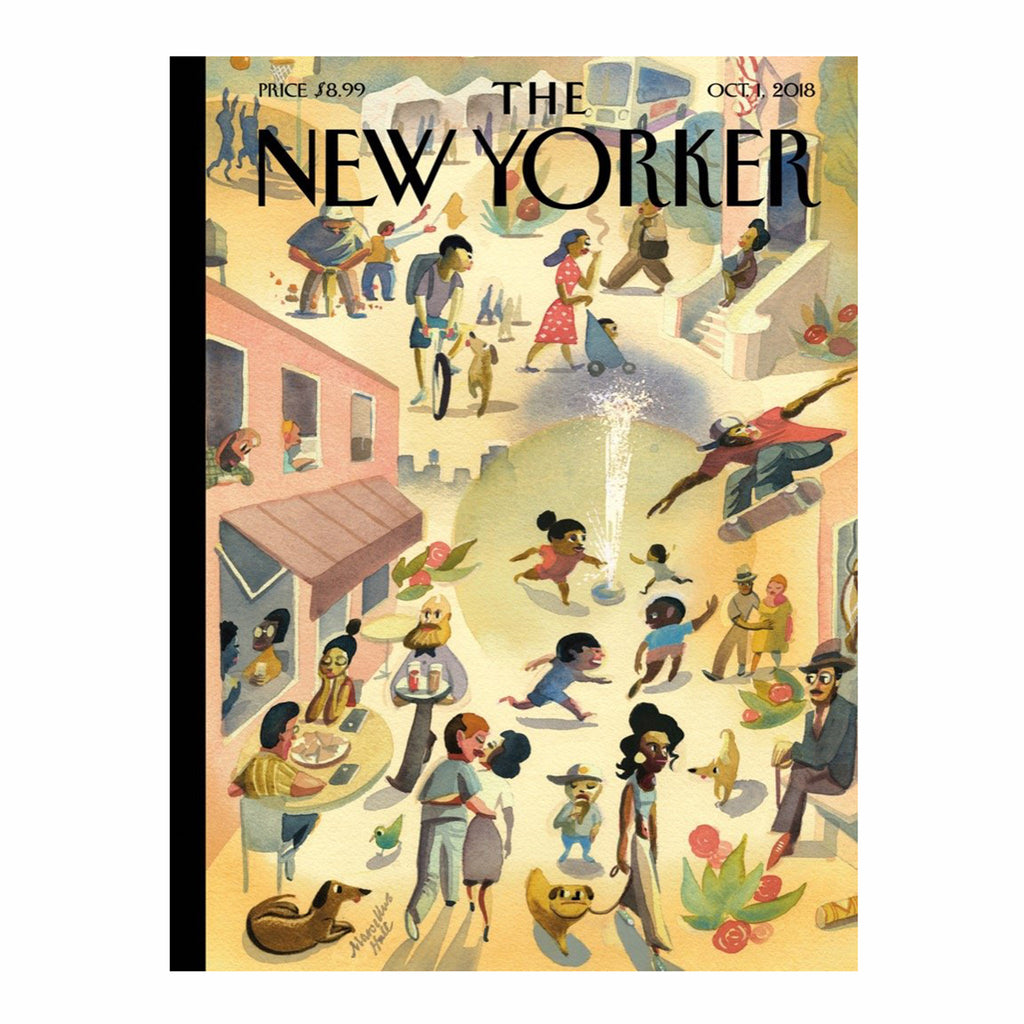 new york puzzle company 1000 piece new yorker cover lower east side jigsaw puzzle original cover artwork