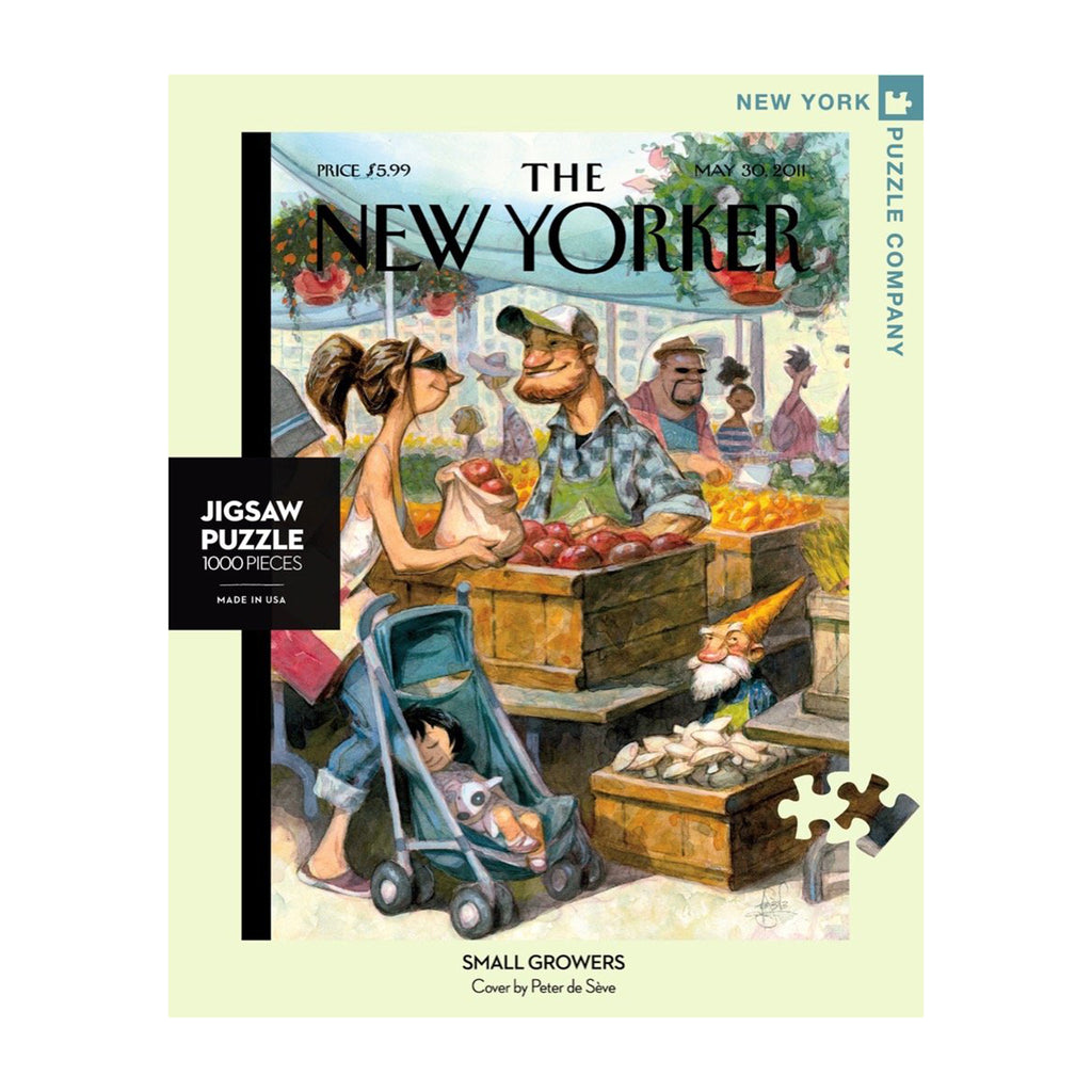 new york puzzle company 1000 piece small growers jigsaw puzzle